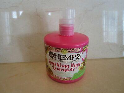 Sparkling Pink Lemonade (HEMPZ SPARKLING PINK LEMONADE HERBAL BODY MOISTURIZER 17 OZ SEE)