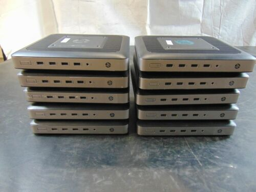 HP T630 Thin Client AMD GX-420GI Radeon / 4GB RAM / 16GB SSD / No OS / Lot of 10