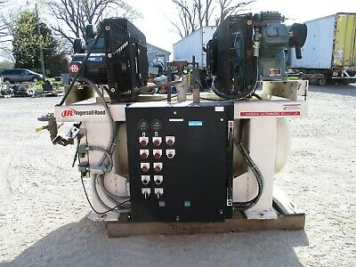 Ingersoll Rand 301152 Air Compressor 5 Hp Rpm 1765 Challenge Air Es-50a Used