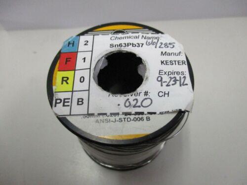 """1lb Spool of Organic Core Solder - Kester .020"""" Diameter"""