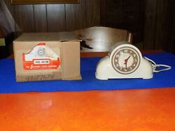 Vintage, 1950's Sessions Electric Clock with original box, runs well