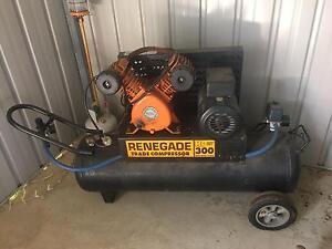 Renegade 300 air compressor Kallangur Pine Rivers Area Preview