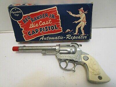 VINTAGE WYANDOTTE RED RANGER JR. DIE CAST CAP GUN ***NEW IN BOX***