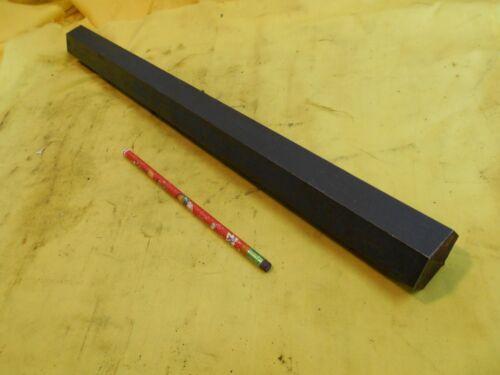 """1018 STEEL HEX BAR machine shop tool die metal stock 1 1/2"""" x 19 1/4"""" OAL"""