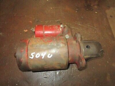 International 504 Utility Delco 12 Volt Starter 1107229 460 656 Antique Tractor