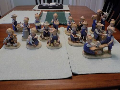 14 Denim Days Figurines,  See Note: