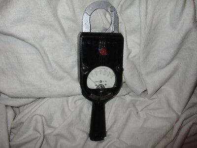 Vintage Antique Ge Ac-volt Ammeter