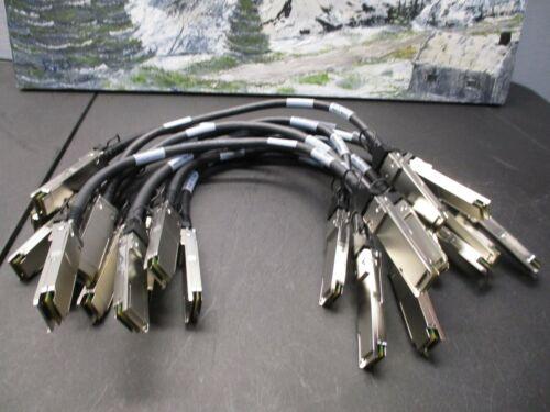 Lot Of 11 NetApp 112-00176 0.5m QSFP-QSFP SAS Cable