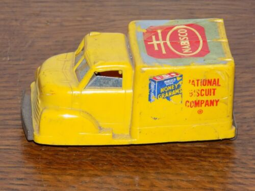 Vintage Plastic National Biscuit Company Truck