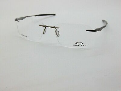 OAKLEY WINGFOLD EVS OX5115-0153 Satin Pewter Rimless Titanium 53mm Eyeglasses