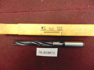 Kennametal Replaceable Tip Drill 0.634 Dia. Ksem0634r7ss075 Alb 10073