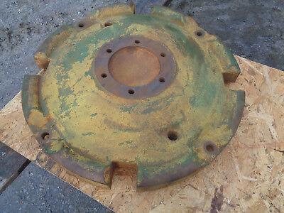 John Deere La Rear Tractor Wheel Part Number L4268t Free Freight