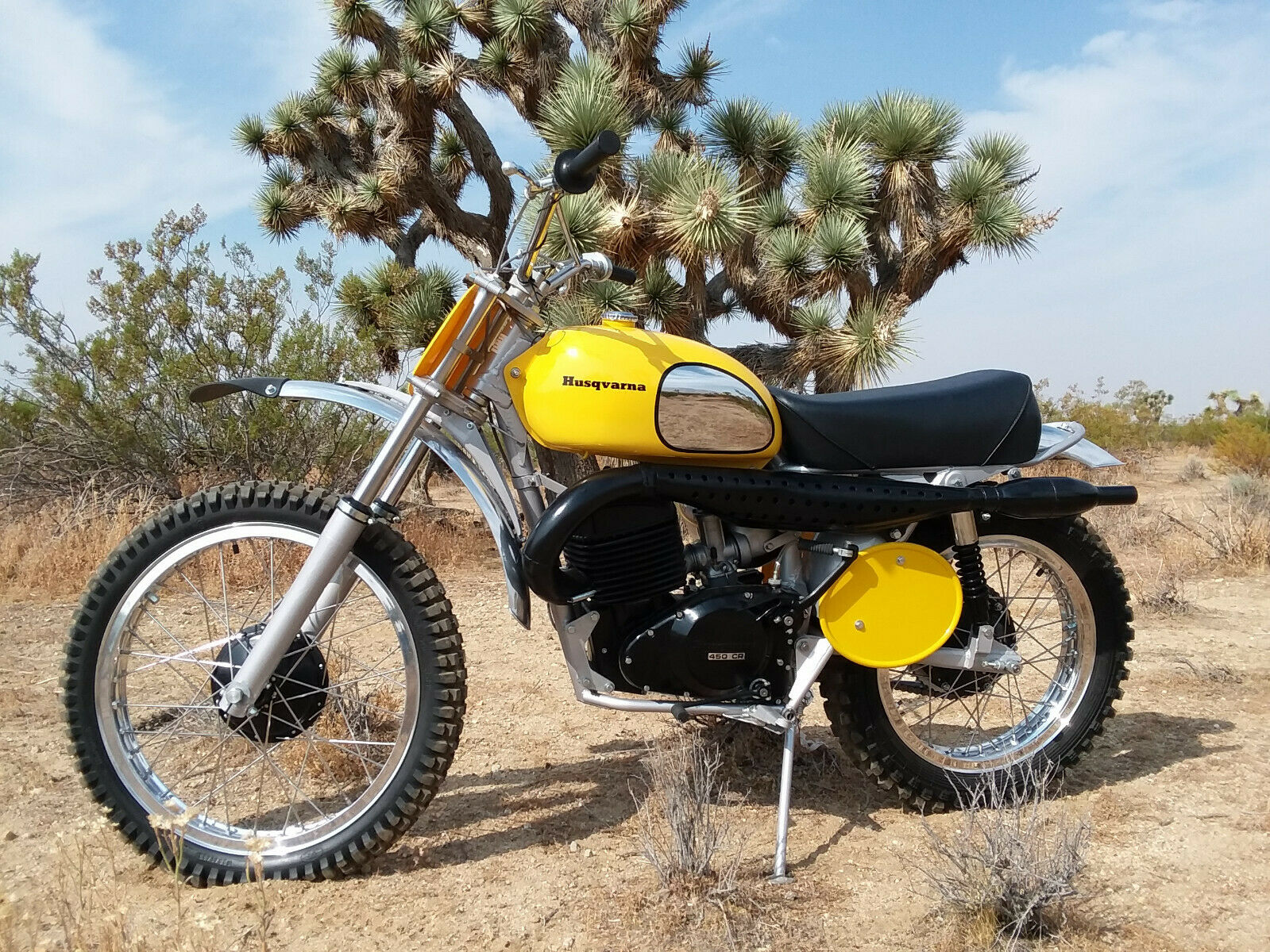 Picture of A 1973 Husqvarna Desert Master 450