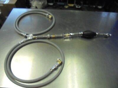 Generator Extended Run Dualfeed Y Single Pump Primerfilter B1-15 Fuel Lines