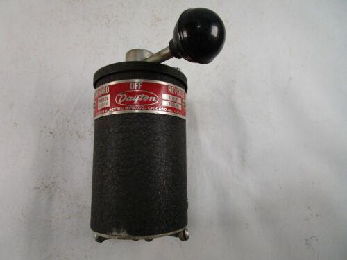 DAYTON 2X441 Switch, Drum Reversing