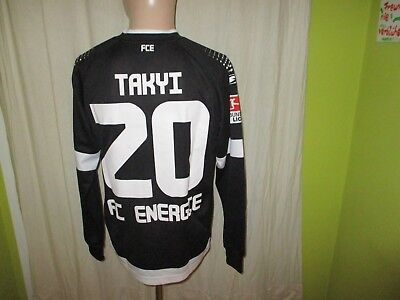 FC Energie Cottbus saller Langarm Matchworn Trikot 2013/14 + Nr.20 Takyi Gr.S image