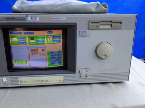 Agilent/HP-16500C Logic Analyzer System with Cables