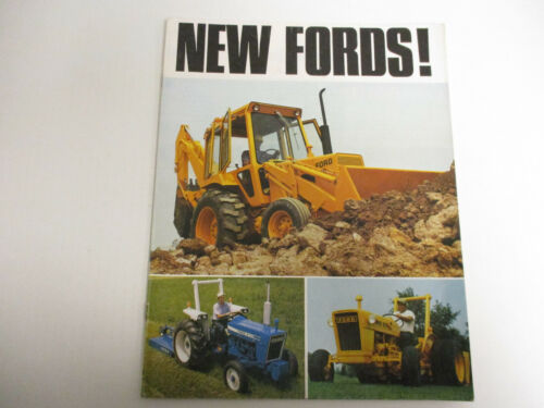 "Ford Tractors ""New Fords!"" Sales Brochure   !"