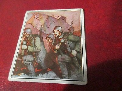 Militaria - 1930's German Cigarette Card of WWI #92