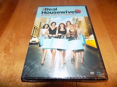 Real Housewives Of New York City Season 2 Tv Series 4 Disc Dvd Set Sealed New