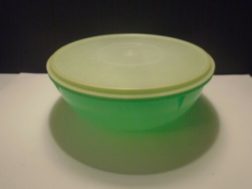 Tupperware 274 Fix-n-Mix Large 26 Cup Bowl Jadite Green with  Sheer Lid