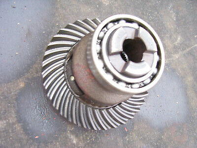 Vintage Ford 1210 3 Cyl Diesel Tractor -ring Gear Assembly