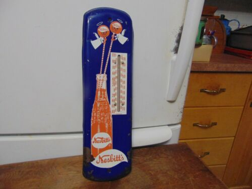 vintage thermometer nesbitts   -     nice        nice   #  8271