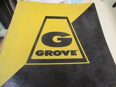Grove Rt418 Rough Terrain Crane Parts Catalog Manual