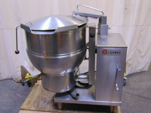 Groen 40 Gallon Capacity Stainless Steel Electric Tilting Kettle Jacketed