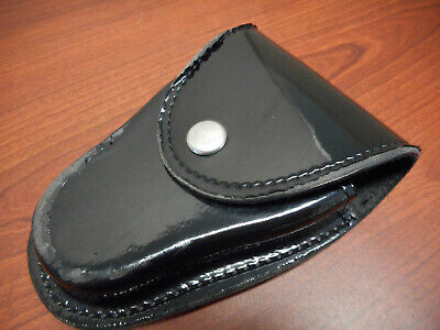 Gould Goodrich H71cl B71 Handcuff Case V-bottom Hi Gloss Clarino Hinge Cuffs