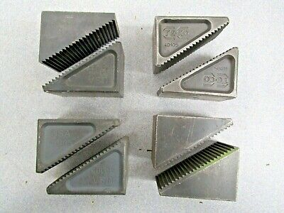 4 Te-co Usa 40105 Steel Step Blocks Set Up Hold Down Machinists Tooling Used