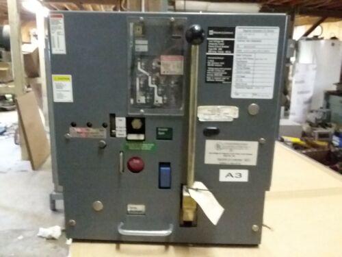 Square D DSL206 Air Circuit Breaker 800 Amp Frame 800 Amp Current Sensor