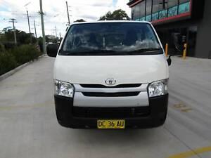 2015 Toyota Hiace LWB Automatic Van/Minivan