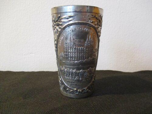 Early 19th Century Souvenir Cup Mormon Temple Tabernacle Salt Lake City Utah