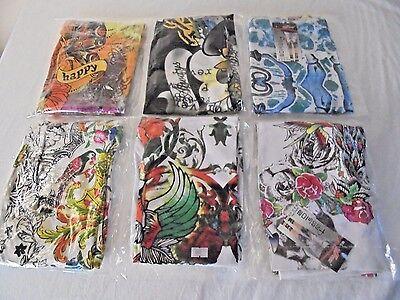 Yayun Tattoo Print Capri Cropped Leggings M/L Yoga Workout Casual Sleep  NWT Capri Print Leggings