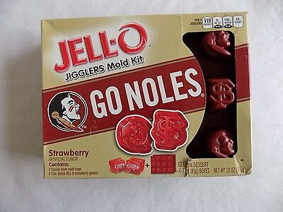 Florida State Seminoles Jell-o Jigglers Mold Kit FSU Party Jell-o Shots ](Fsu Party)