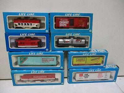 Life Like Trains Campbell's Soup Train Set HO Scale