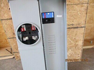 Eaton 200a Meter Socket Main Breaker 120240 Vac 3r Cmbe88b200bts Ch 8 Circuits