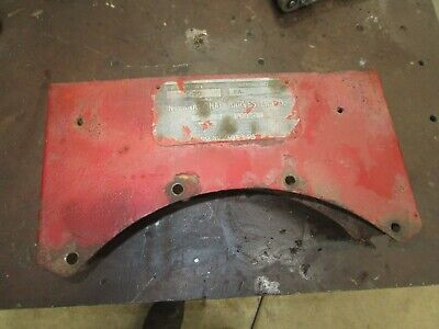 Ih Farmall F20 Used Original Tool Box With Tag  Antique Tractor