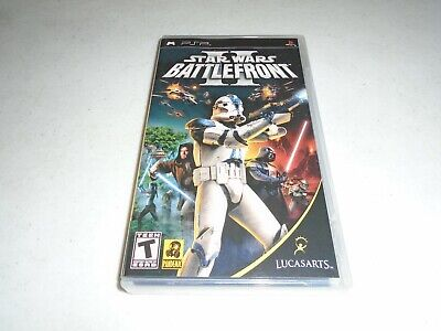 Star Wars: Battlefront II ☆☆ Complete Black Label PSP Playstation Portable 2