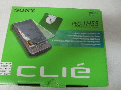 Sony CLIE PEG-TH55 Personal Entertainment Organizer - in Retail Box Complete