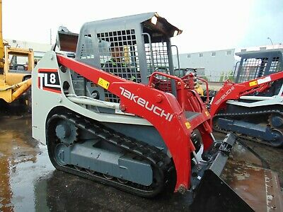 2016 Takeuchi Tl8 Turbo 2 Speed High Flow Track Loader - Completely Serviced