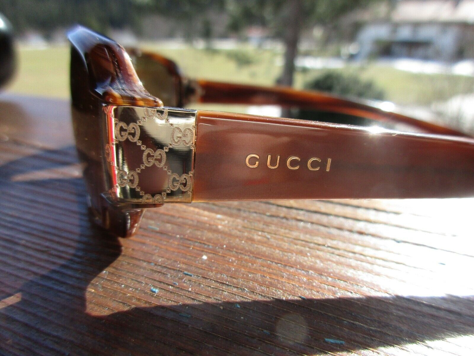 Schöne Gucci Sonnenbrille, GUCCI, Etui, Damen, Reduziert