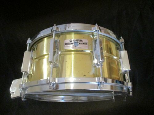 Yamaha SD 416 Solid Brass 14 X 6.5 Snare Drum, Japan Made, Die-Cast Hoops !