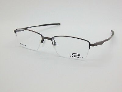NEW OAKLEY LIMIT SWITCH 0.5 OX5119-0352 Satin Toast Titanium 52mm Rx Eyeglasses