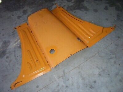 Vintage Minneapolis Moline Rtu Tractor -hood Side Panels -1941