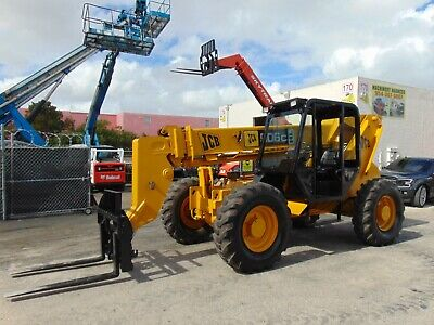 Jcb 506c-hl - 6k Lbs - 42 Ft - Telescopic Forklift - 4x4x4 - Hydraulic Sway