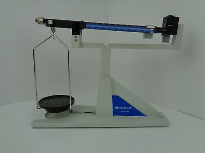 Fisher Scientific Vintage Mechanical Beam Balance Scale Model 411 Balance Beam Scale Models