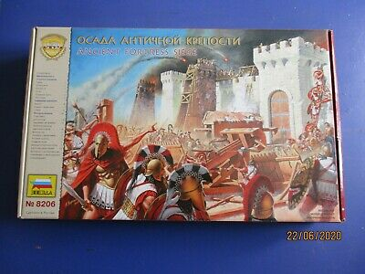 zvezda 1/72 age of battles ancient Fortress Siege no. 8206