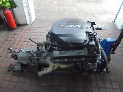 bmw e39 m5 engine and gearbox and ecu complete conversion done 122,000 miles